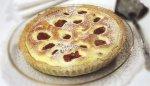 Яблочный пирог с клубникой