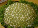 Слоеный салат из курицы с виноградом «От Тиффани»