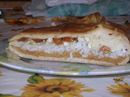 Тесто для губадия с рисом изюмом и курагой рецепт 149