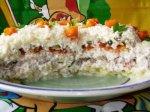 Салатик «Свиные язычки» или «Языческий салат»