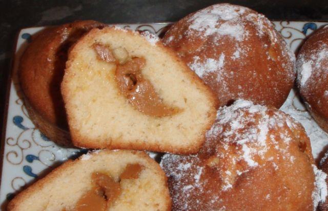 Кексики с вареной сгущенкой рецепт