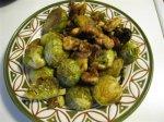 Постная кухня. Брюссельская капуста с грецкими орехами