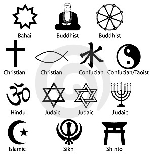 Methodist religious symbols.